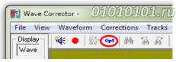 Открываем программу Wave Corrector