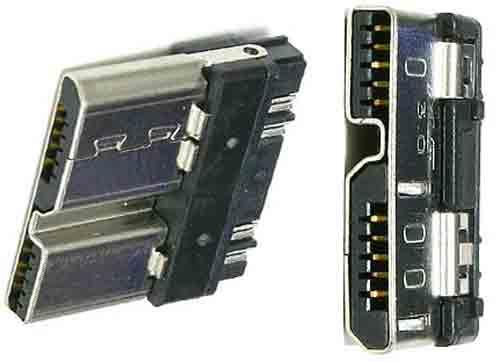 Распиновка USB 3.0-micro