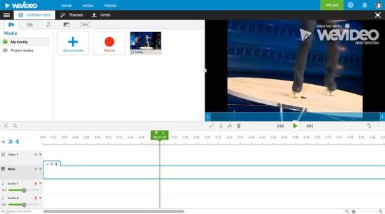WeVideo - видеоредактор онлайн