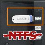 Телевизор не читает флешку в NTFS. Решение