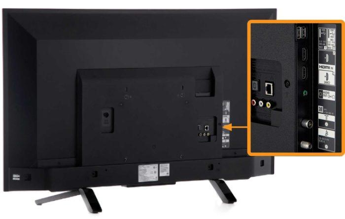Sony KDL-43WF665 интерфейсы