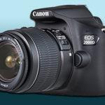 Canon EOS 2000D — зеркальная фотокамера со сменным объективом