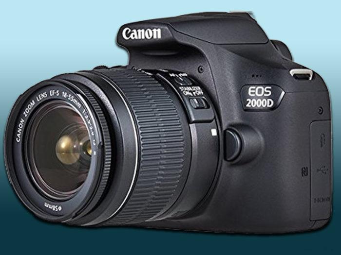 Canon EOS 2000D - зеркальная фотокамера со сменным объективом