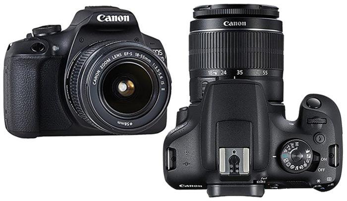 Canon EOS 2000D управление и производительность