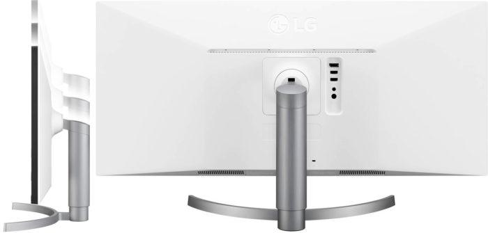 LG 34WK650 дизайн