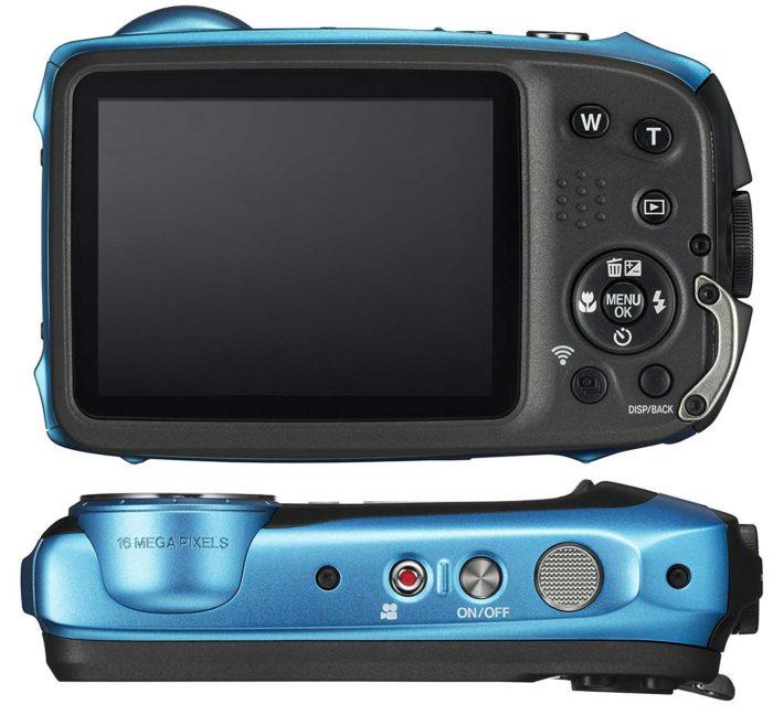 Fujifilm FinePix XP130 дисплей и управление