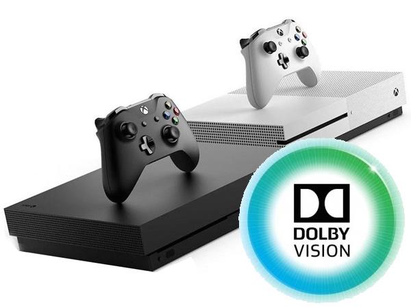 Консоли Xbox One X и Xbox One S получат поддержку Dolby Vision после обновления