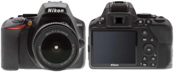 Nikon D3500 дизайн