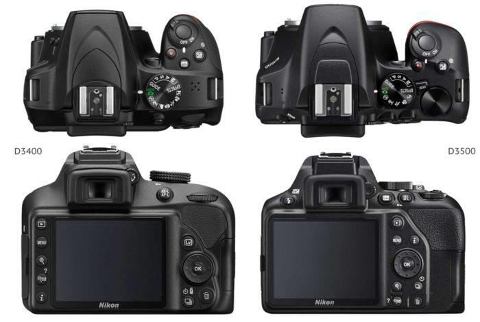 Nikon D3500 и Nikon D3400 отличия