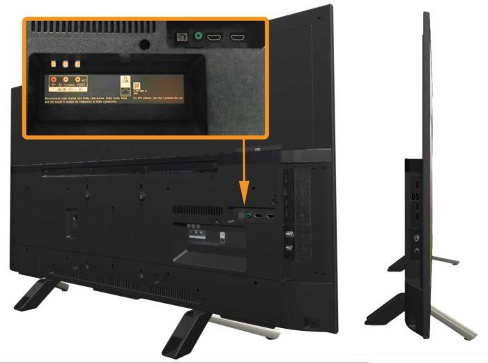 Sony WF804 интерфейсы