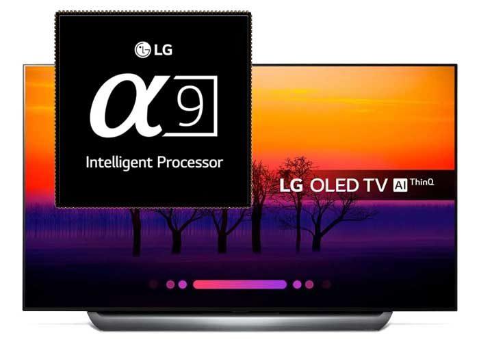 LG OLED 2019 с обновленным Alpha 9 процессором