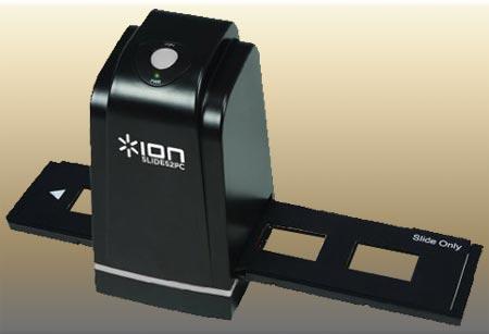 Основные характеристики слайд-сканера Ion Slides 2 PC