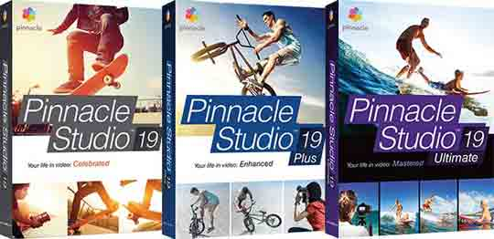 Сравнение вариантов выпуска Пинакл Студио 19