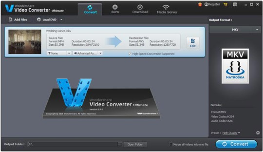 Wondershare Video Editor 4K
