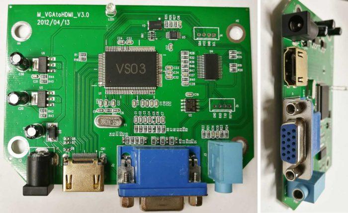 Dr.HD CV 123 VAH схема
