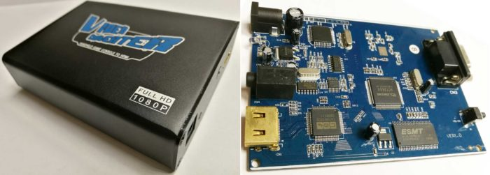 Конвертер Dr.HD PSP в HDMI (Upscaler 1080p) схема монтажная
