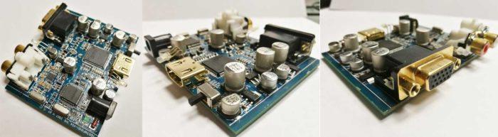 Конвертер Dr.HD Y0102H-схема