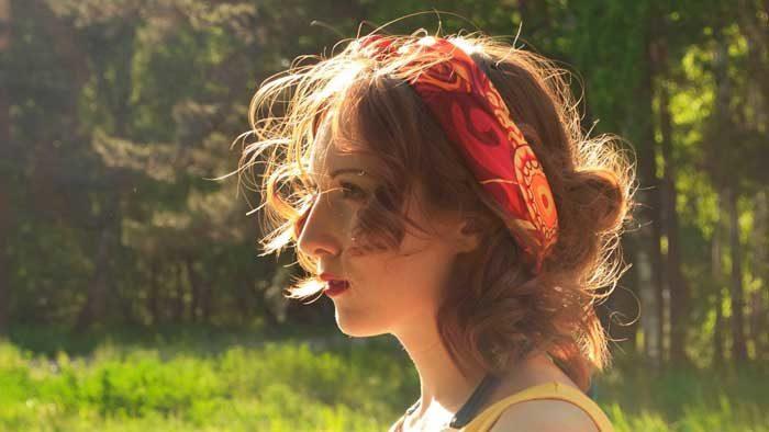 Выделение волос в Фотошопе - исходник