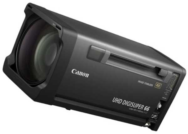 Canon UHD DigiSuper 66 с мощным зумом