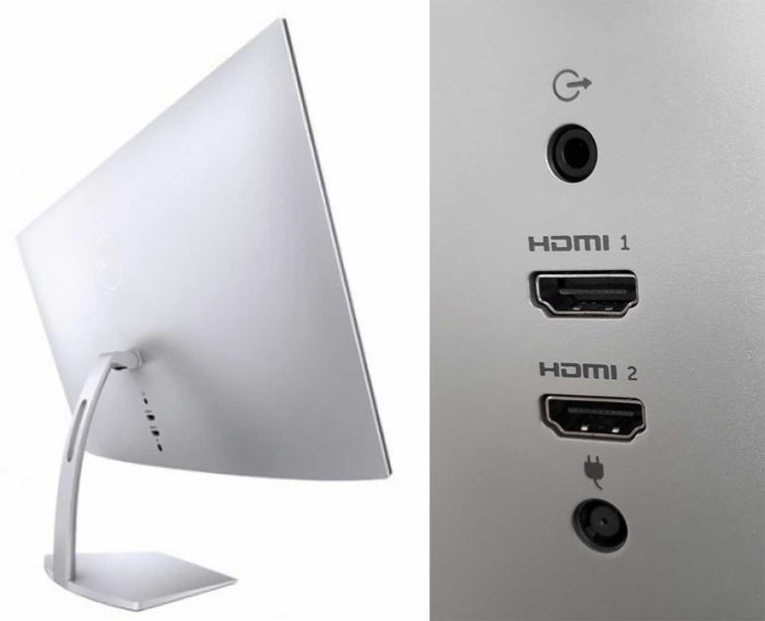Dell S2719DM задняя панель