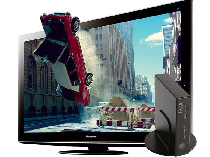 Lirpa 3D Adapter Box добавит в телевизоры 3D формат