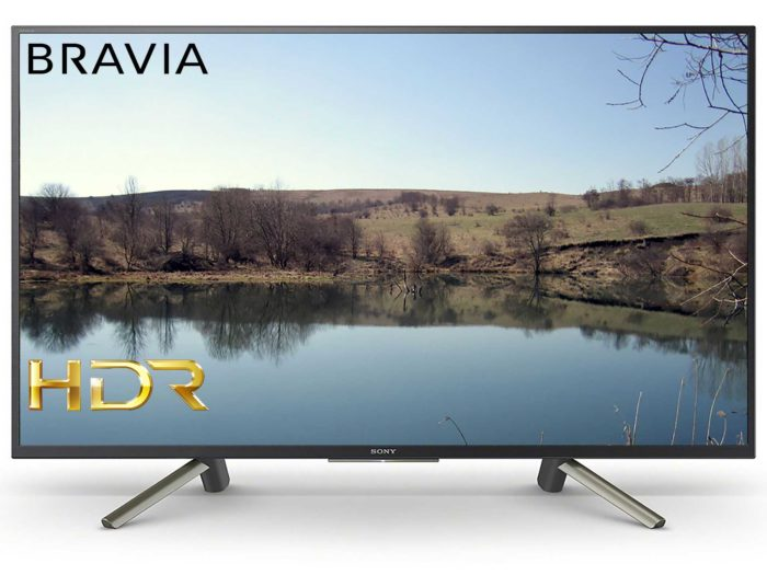 Sony KDL-43WF665 с HDR и элементами Smart TV