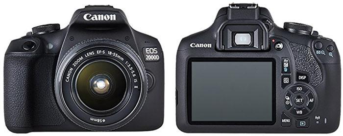 Canon EOS 2000D обзор