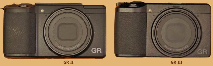 Ricoh GR III-vs-Ricoh GR II отличия