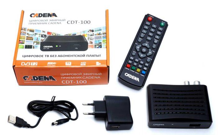 Cadena CDT-100 комплектация