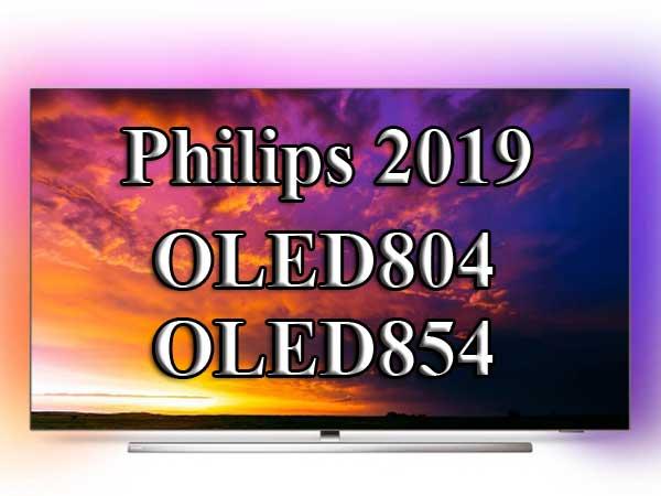 Philips OLED 804 и OLED 854 - флагманские телевизоры Philips 2019