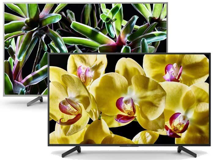 Sony XG83, XG81, XG80, XG70 телевизоры 4K начального уровня