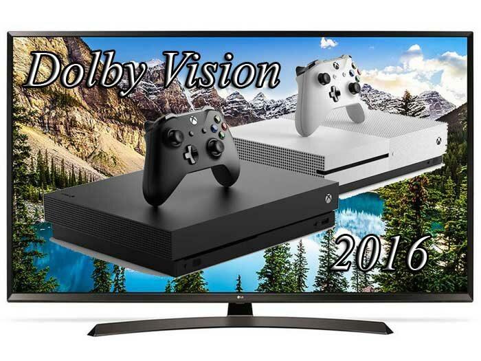 TV 2016 - 2017 года не поддерживают Dolby Vision с Xbox One