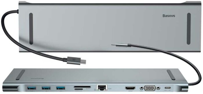 Baseus Enjoyment Series Type-C - 10-разъемный хаб для ноутбука