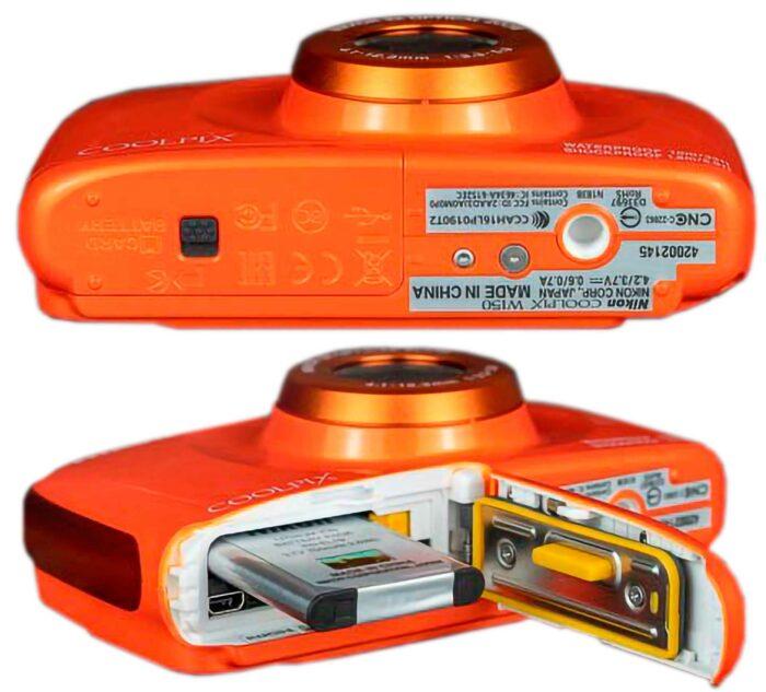Nikon Coolpix W150 интерфейсы