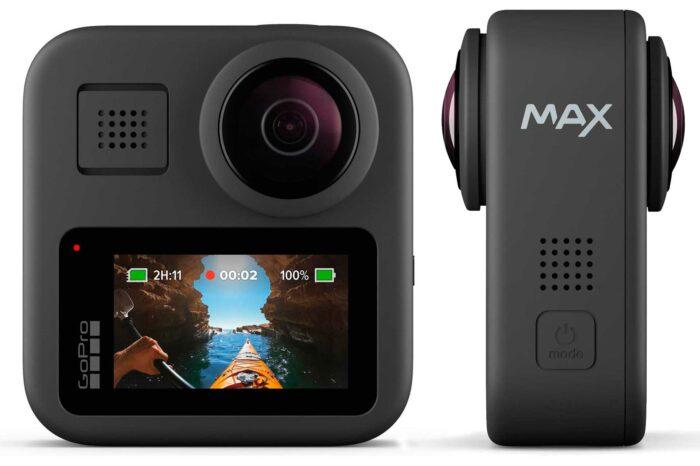 GoPro Max экран