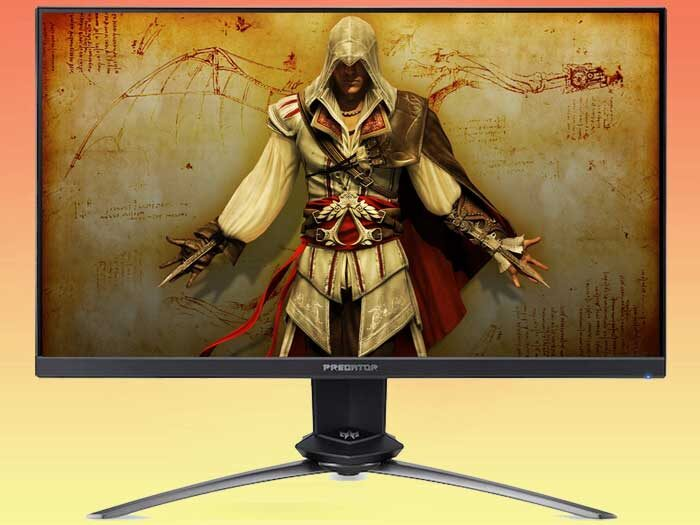 Acer Predator XN253QXbmiprzx - игровой монитор с Nvidia G-SYNC