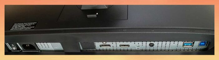 Acer Predator XN253QXbmiprzx интерфейсы