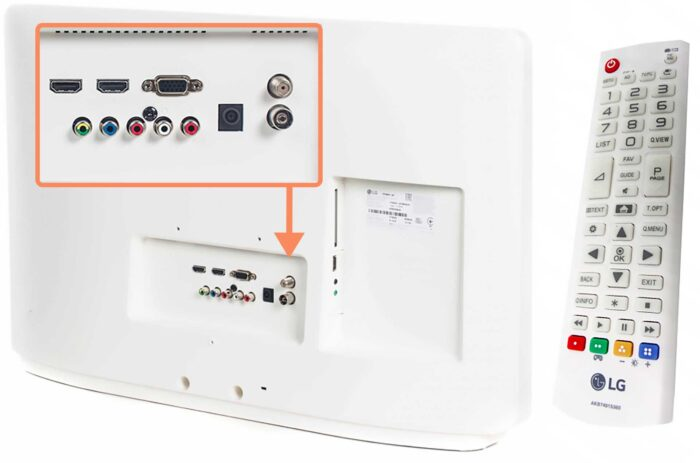 LG 27TK600V WZ 27 интерфейсы
