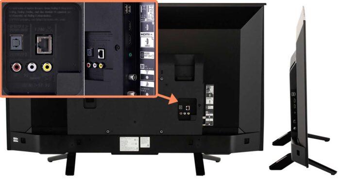 Sony KDL-43WG665 интерфейсы