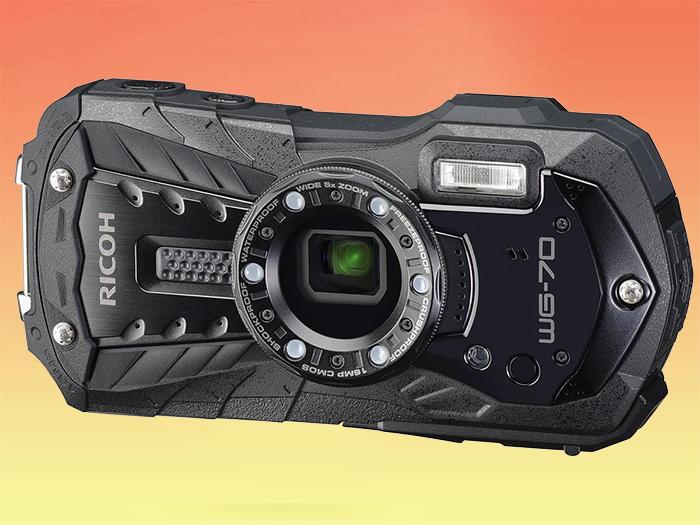 Rico WG-70 компактный водонепроницаемый фотоаппарат с Full HD видео