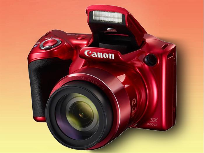 Canon PowerShot SX420 IS компактная бридж-камера с суперзумом