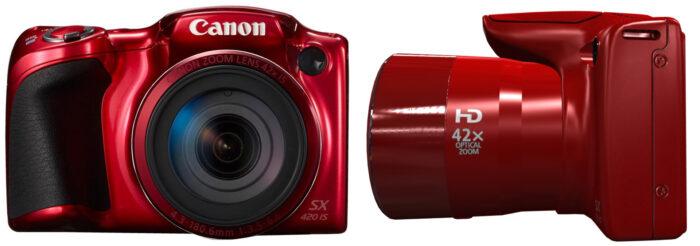 Canon PowerShot SX420 - дизайн