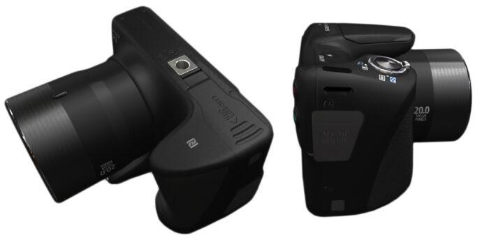 Canon PowerShot SX420 - интерфейс
