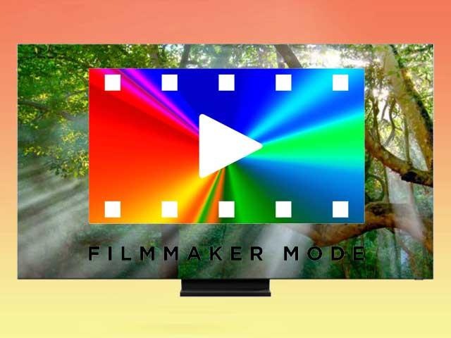 Режим кинопроизводителя в телевизорах Samsung