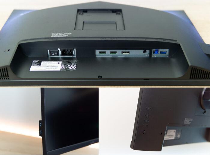 Acer CM2241W - интерфейс