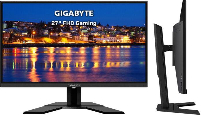 Gigabyte G27F - дизайн