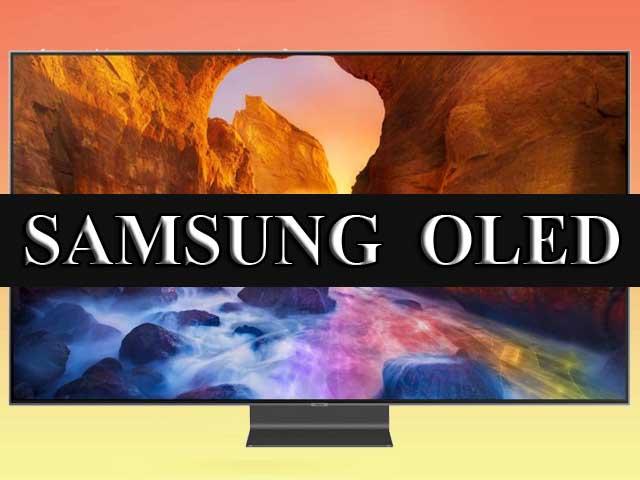 OLED телевизоры Samsung с панелями LG