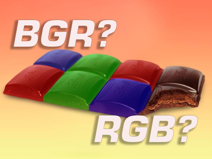 RGB против BGR - какая компоновка субпикселей лучше