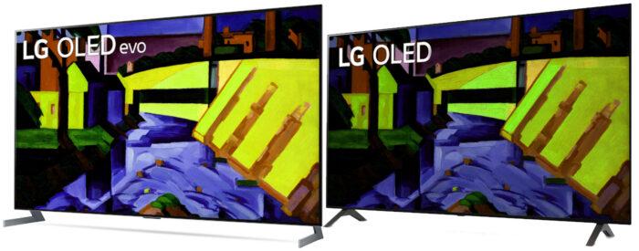 OLED evo vs OLED - сравнение яркости