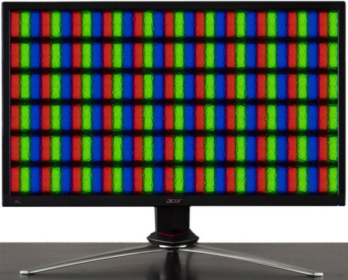 RGB vs  BGR - монитор Acer